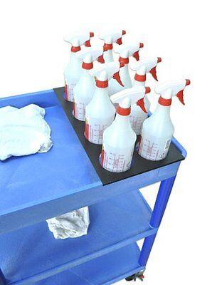 Luxor 8 bottle holder plate for cart- STC-8BH CART NEW