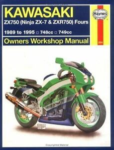 Haynes Kawasaki, ZX750 Ninjas ZX7 and ZXR 750 1989-1995 (Haynes Manual-ExLibrary
