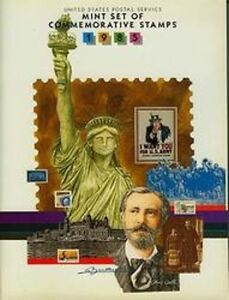 1985 USPS Commemorative Mint Stamp Set with Booklet & Stamps