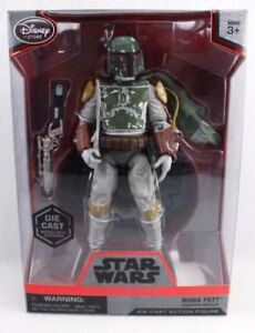 Star Wars Boba Fett w/cape Elite Diecast Figure from Disney VHTF