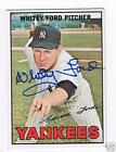 Whitey Ford Topps Autographed