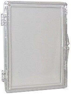 Plastic Hinged Boxes - (10 Box Lot) Ultra Pro 15-Card Hinged Plastic Boxes Holders For Trading Cards