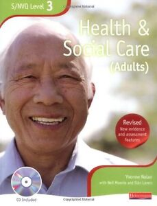 NVQ/SVQ Level 3 Health and Social Care Candidate Book New Paperback Book