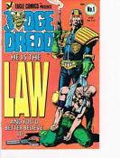 Judge Dredd Eagle Comics