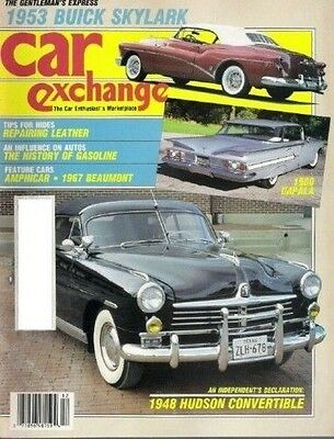 CAR EXCHANGE December 1986(1960 Impala, 1967 Beaumont, 1948