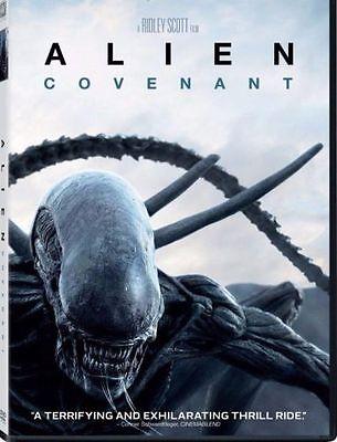 Alien  Covenant   Dvd 2017  New  Horror  Thriller  Now Shipping