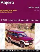 WANTED: Gregorys Workshop Manual No. 528 Pajero Waterford South Perth Area Preview