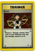 Brock Pokemon Card