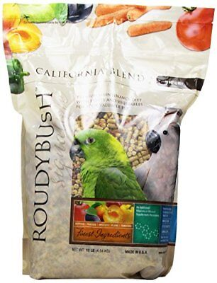 Roudybush California Blend Bird Food Medium 10-Pound