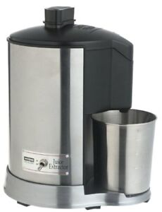 Extracteur à jus Waring professionnel JEX328  en stainless stell