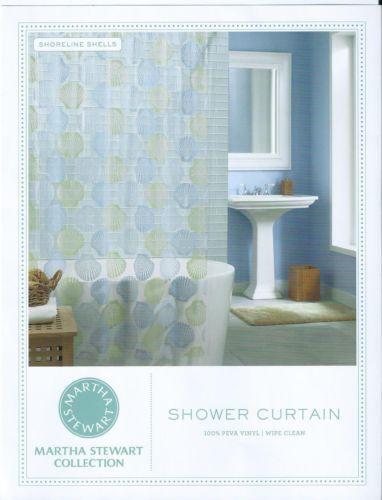 Martha Stewart Shower Curtain Ebay