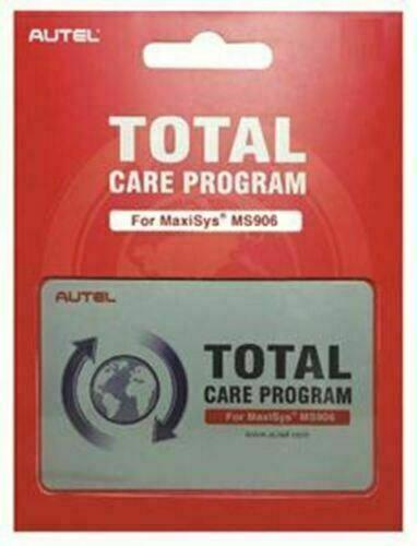 AUTEL MS906 38001988 1Yr Update & Warranty Subscription Card NEW