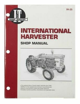 Shop Manual International Harvester 460 560 606 660 2606 Tractor