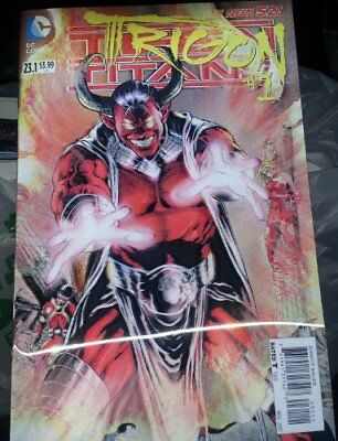 FIRST PRINTING TEEN TITANS  23.1 TRIGON 3D MOTION DC  NM FIRST PRINT