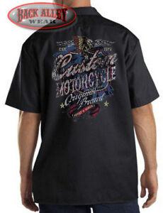 Custom Motorcycle Original Brand Mechanics Work Shirt