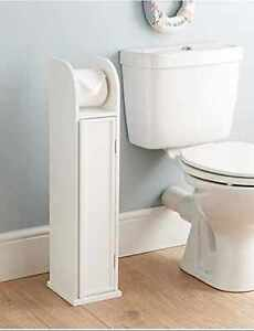 Bathroom Toilet Paper Roll Holder Floor Standing Storage