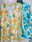 Cardigan Yellow Floral Cardigans for Women