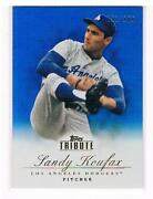 2012 Topps Tribute Sandy Koufax