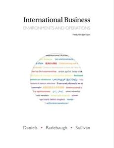 International Business (12th Edition) Hardcover