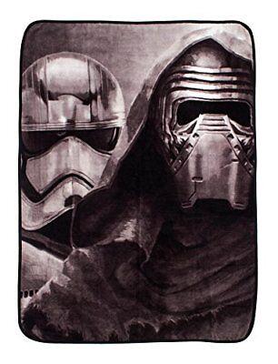 character world 120 x 150 cm Star Wars Episode 7 Awaken Fleece Blanket, Multi-Co - Star Wars Characters Episode 7