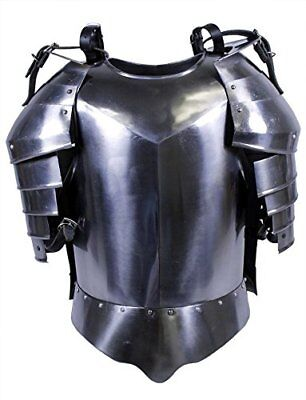 Medieval Armor Helmet Suit of Armor Roman Shield Breastplate and Gauntlet IOTC