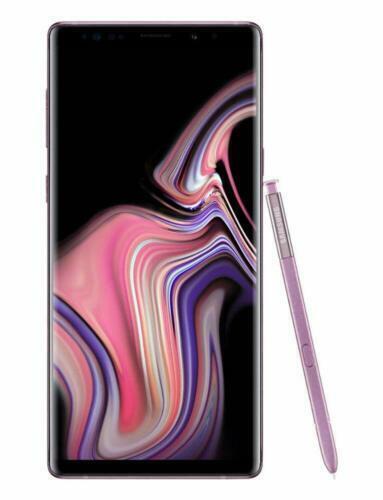 Samsung Galaxy Note9 SM-N960U - 128GB - Lavender Purple (Unlocked) (Single SIM)