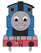 Thomas The Tank Engine Cross Stitch