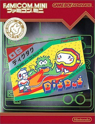 (Used) Famicom Mini Dig Dug Japan Game Boy Advance [Japan Import]