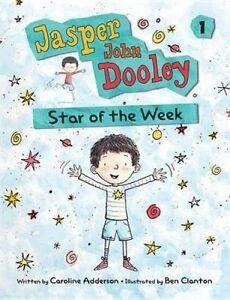 Jasper John Dooley Star of the Week C Adderson Hardback Hard Cover 9781554535781