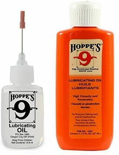 Hoppes 9  Gun Oil Lubricant Precision Needle Applicator & 2.25 Oz.Refill