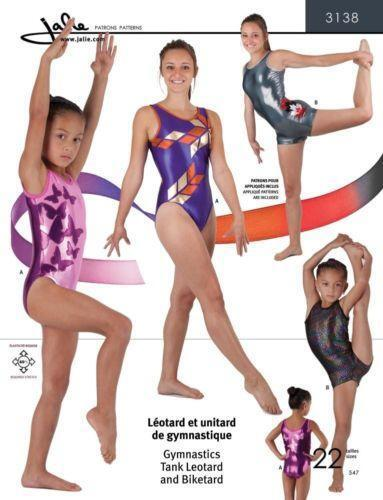 Gymnastics Leotard Pattern | eBay