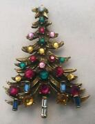 Hollycraft Christmas Tree Pin