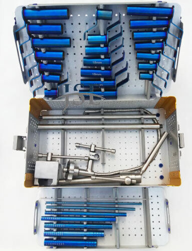 Mis Tubular Retractor System Complete Set with Sterilize Box