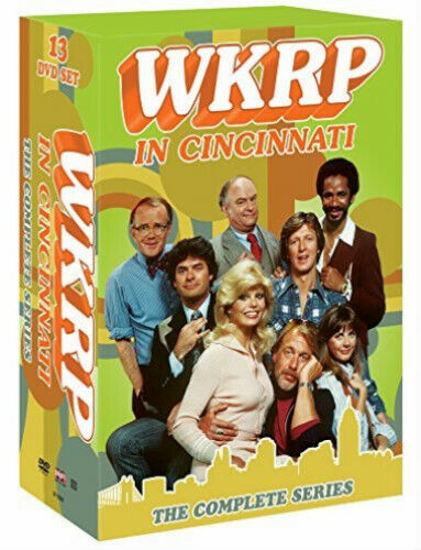 WKRP in Cincinnati: The Complete Series 1-4 + Bonus (DVD, 2014, 13-Disc Set)