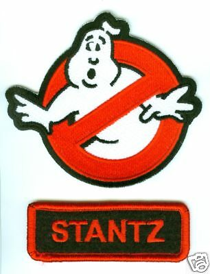 Movie Ghostbusters Stantz Namensschild 2-PATCH Zum Aufbügeln Set