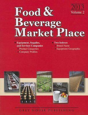 Food  Amp  Beverage Market Place  2013  Vol  2   Suppl