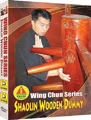 Wing Chun Wooden Dummy Techniques Training DVD 1-8 Box Set