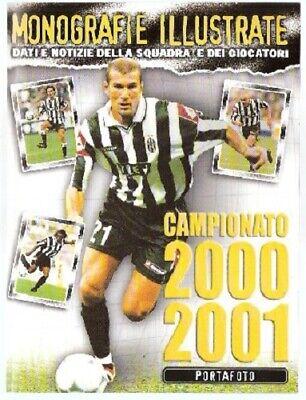 Juventus 2000-01 Foto Cards Album Completo Edigamma