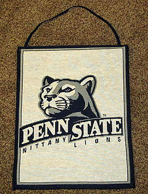 Penn State University Tapestry Bannerette Wall Hanging ~ Nittany Lions
