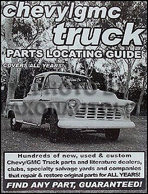 1970 Chevy Pickup Parts (Find Chevy Pickup PARTS with this book 1970 1971 1972 1973 1974 1974 1975 1976 )