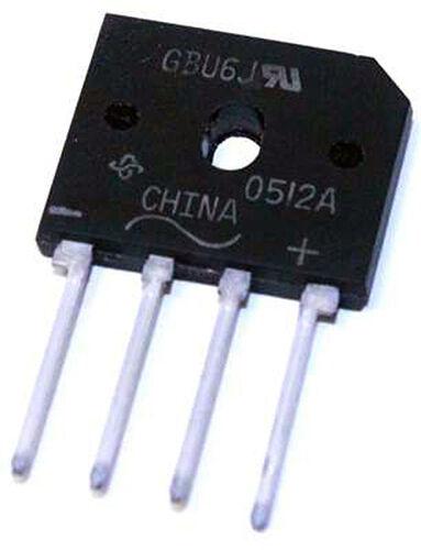 GBU6J Bridge Rectifier 6 Amp / 600V - Lot of 3