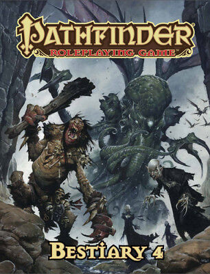 Pathfinder RPG: Bestiary 4 Paizo Publishing BRAND NEW ABUGames