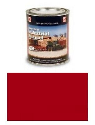 One 1 Quart Of Vermillion Red Paint Fits Ford 8n Naa 600 700 800 900 2000
