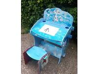 Kid's Play Desk and Stool