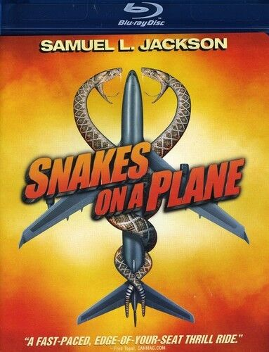 Snakes on a Plane [WS] (2009, REGION A Blu-ray New) BLU-RAY/WS