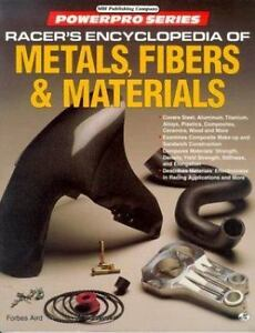 Racer's Encyclopedia of Metals, Fibers and Materials (Motorbooks International P