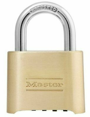 Master Lock Padlock 175d 4 Digit Combination Padlock Re-settable Combo Lock