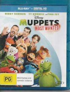 Muppets Most Wanted Bluray