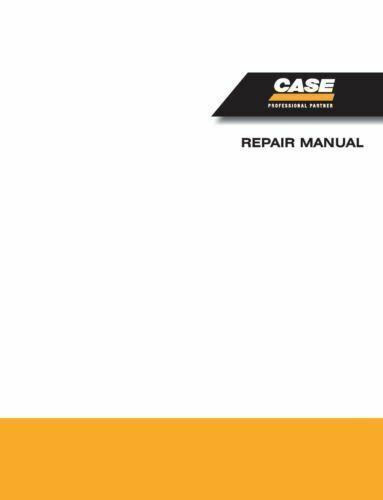 CASE 9030 Crawler Excavator Shop Service Repair Manual - Part # 7-44680