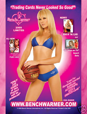 2009 BENCHWARMER - LIMITED SERIES SEALED BOX